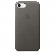 Apple iPhone 7/8/SE-2 Leather Case - Storm Gray