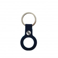 AirTag Silicone Key Ring Lux Copy Deep Navy