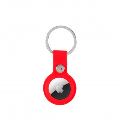 AirTag Silicone Key Ring Lux Copy (PRODUCT) RED