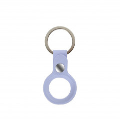 AirTag Silicone Key Ring Lux Copy Violet
