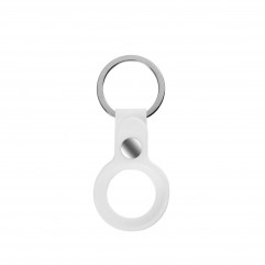 AirTag Silicone Key Ring Lux Copy White