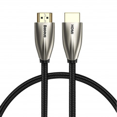 Кабель Baseus Horizontal 4KHDMI Male To 4KHDMI Male Adapter Cable 1m - Black (CADSP-A01)