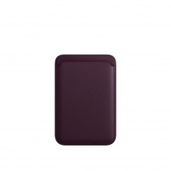 Apple iPhone Leather Wallet with MagSafe - Dark Cherry (MM0T3)