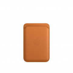 Apple iPhone Leather Wallet with MagSafe - Golden Brown (MM0Q3)