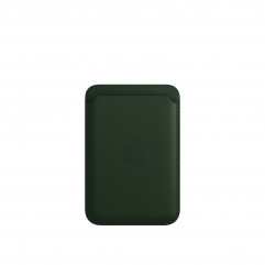 Apple iPhone Leather Wallet with MagSafe - Sequoia Green (MM0X3)