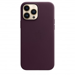 Apple iPhone 13 Pro Max Leather Case with MagSafe - Dark Cherry (MM1M3)
