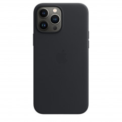 Apple iPhone 13 Pro Max Leather Case with MagSafe - Midnight (MM1R3)