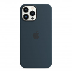 Apple iPhone 13 Pro Max Silicone Case with MagSafe - Abyss Blue (MM2T3)