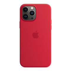 Apple iPhone 13 Pro Max Silicone Case with MagSafe - (PRODUCT)RED (MM2V3)