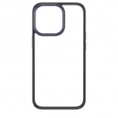Rock Space Protection Case for iPhone 13 Pro Max - Clear/Black