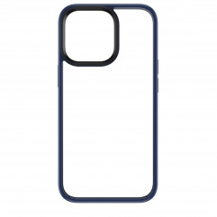Rock Space Protection Case for iPhone 13 Pro Max - Clear/Blue