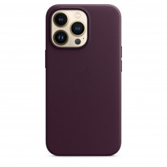 Apple iPhone 13 Pro Leather Case with MagSafe - Dark Cherry (MM1A3)