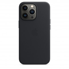Apple iPhone 13 Pro Leather Case with MagSafe - Midnight (MM1H3)