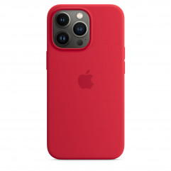 Apple iPhone 13 Pro Silicone Case with MagSafe - (PRODUCT)RED (MM2L3)