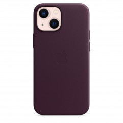 Apple iPhone 13 mini Leather Case with MagSafe - Dark Cherry (MM0G3)