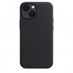 Apple iPhone 13 mini Leather Case with MagSafe - Midnight (MM0M3)