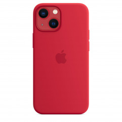 Apple iPhone 13 mini Silicone Case with MagSafe - (PRODUCT)RED (MM233)