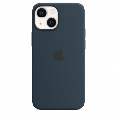 Apple iPhone 13 mini Silicone Case with MagSafe - Abyss Blue (MM213)