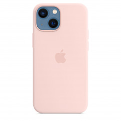 Apple iPhone 13 mini Silicone Case with MagSafe - Chalk Pink (MM203)