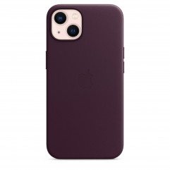 Apple iPhone 13 Leather Case with MagSafe - Dark Cherry (MM143)