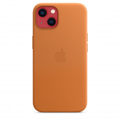 Apple iPhone 13 Leather Case with MagSafe - Golden Brown (MM103)