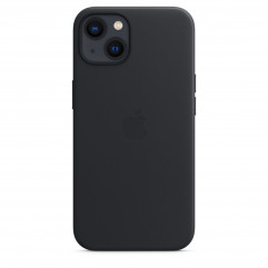 Apple iPhone 13 Leather Case with MagSafe - Midnight (MM183)