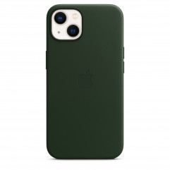 Apple iPhone 13 Leather Case with MagSafe - Sequoia Green (MM173)