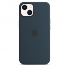 Apple iPhone 13 Silicone Case with MagSafe - Abyss Blue (MM293)