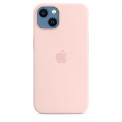 Apple iPhone 13 Silicone Case with MagSafe - Chalk Pink (MM283)