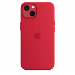 Apple iPhone 13 Silicone Case with MagSafe - (PRODUCT)RED (MM2C3)