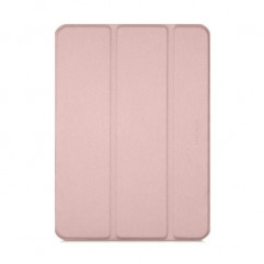 """Чехол-книжка Macally Protective case and stand для iPad Pro 12.9"""" (2018/2020) Pink (BSTANDPRO4L-RS)"""