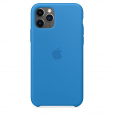 Apple iPhone 11 Pro Max Silicone Case LUX COPY - Surf Blue (MXW82)