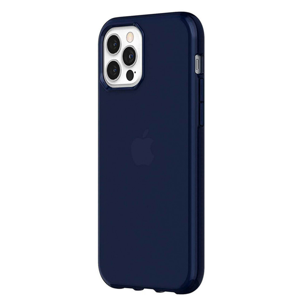 Griffin Survivor Clear for iPhone 12 | 12 Pro - Navy (GIP-051-NVY)