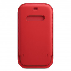 Apple iPhone 12 | 12 Pro Leather Sleeve with MagSafe - (PRODUCT)RED (MHYE3)