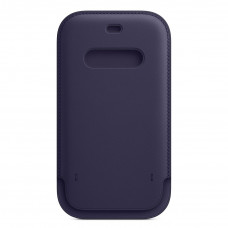 Apple iPhone 12 | 12 Pro Leather Sleeve with MagSafe - Deep Violet (MK0A3)