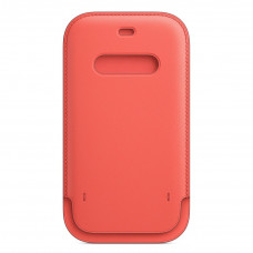 Apple iPhone 12 | 12 Pro Leather Sleeve with MagSafe - Pink Citrus (MHYA3)