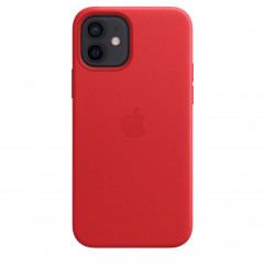 Apple iPhone 12 | 12 Pro Leather Case with MagSafe - (PRODUCT)RED (MHKD3)
