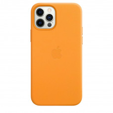 Apple iPhone 12 | 12 Pro Leather Case with MagSafe - California Poppy (MHKC3)