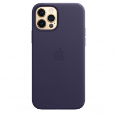 Apple iPhone 12 | 12 Pro Leather Case with MagSafe - Deep Violet (MJYR3)