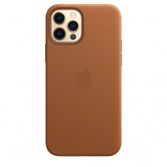 Apple iPhone 12 | 12 Pro Leather Case with MagSafe - Saddle Brown (MHKF3)