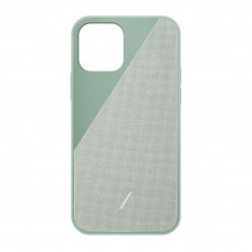 Native Union Clic Canvas Case for iPhone 12/12 Pro - Sage (CCAV-GRN-NP20M)