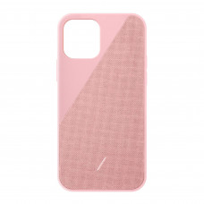 Native Union Clic Canvas Case for iPhone 12 | 12 Pro - Rose (CCAV-ROS-NP20M)