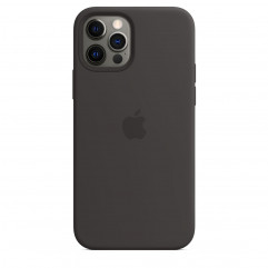 Apple iPhone 12 | 12 Pro Silicone Case with MagSafe - Black (MHL73)