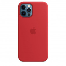 Apple iPhone 12 | 12 Pro Silicone Case with MagSafe - (PRODUCT)RED (MHL63)