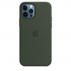 Apple iPhone 12 | 12 Pro Silicone Case with MagSafe Lux Copy - Cyprus Green (MHL33)