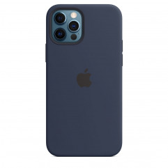 Apple iPhone 12 | 12 Pro Silicone Case with MagSafe - Deep Navy (MHL43)