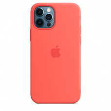Apple iPhone 12 | 12 Pro Silicone Case with MagSafe - Pink Citrus (MHL03)