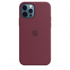 Apple iPhone 12 | 12 Pro Silicone Case with MagSafe - Plum (MHL23)