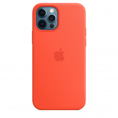 Apple iPhone 12 | 12 Pro Silicone Case with MagSafe - Electric Orange (MKTR3)