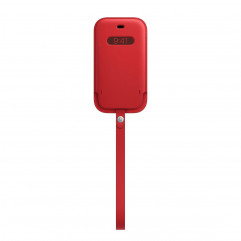 Apple iPhone 12 mini Leather Sleeve with MagSafe - (PRODUCT)RED (MHMR3)